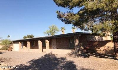 Tucson Single Family Home For Sale: 6871 N Machiavelli Way