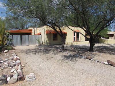 Tucson Single Family Home For Sale: 2923 E Edison Street