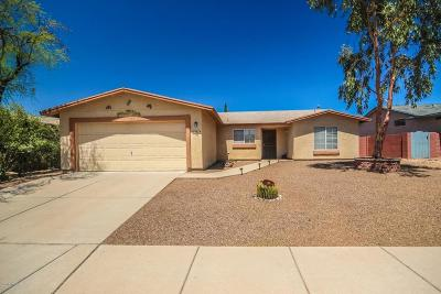 Tucson Single Family Home For Sale: 7861 S Tarbela Avenue