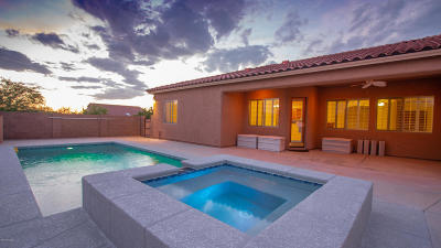 Single Family Home For Sale: 10540 S Coyote Melon Loop