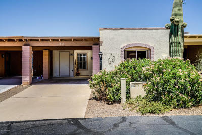 Pima County, Pinal County Townhouse For Sale: 2868 S Camino El Greco