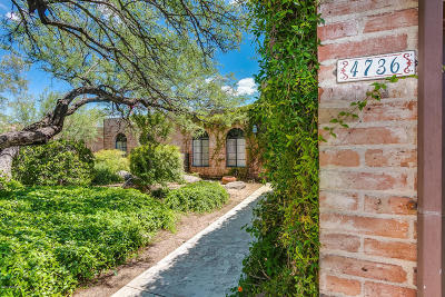 Tucson Townhouse For Sale: 4736 Quail Creek Drive