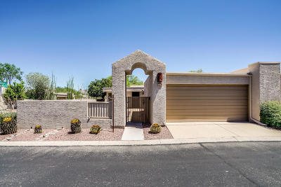 Tucson Townhouse For Sale: 4461 E Kleindale Road