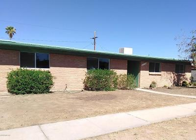 Tucson Single Family Home For Sale: 610 N Bedford Drive