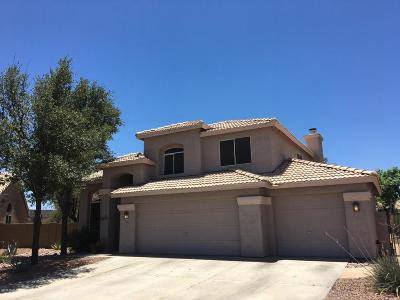 Marana Single Family Home Active Contingent: 8157 N Torrey Place