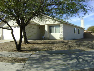 Pima County Single Family Home For Sale: 7059 E Typhoon Flyer Way