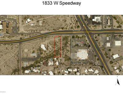 Tucson Residential Lots & Land For Sale: 1833 W Speedway Boulevard