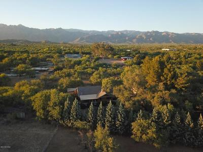 Pima County Single Family Home For Sale: 8240 E Woodland Road