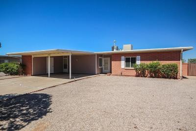 Tucson Single Family Home For Sale: 2950 W Verona Place