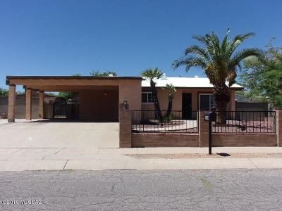 Tucson Single Family Home For Sale: 3420 S Magda Avenue