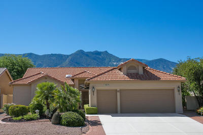 Tucson Single Family Home Active Contingent: 38419 S Golf Course Drive