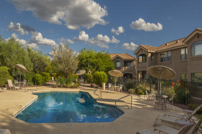 Tucson Condo Active Contingent: 755 W Vistoso Highlands Drive #102