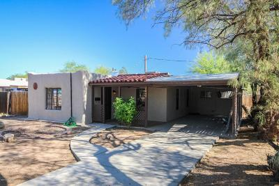 Pima County Single Family Home For Sale: 2849 E Edison Street