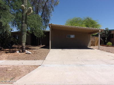 Tucson Single Family Home For Sale: 9201 E Speedway Boulevard