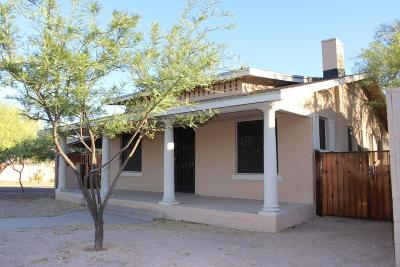 Pima County Single Family Home For Sale: 603 E Speedway Boulevard
