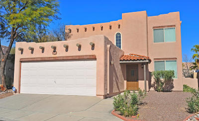 Pima County Single Family Home For Sale: 1262 W Silverleaf Drive