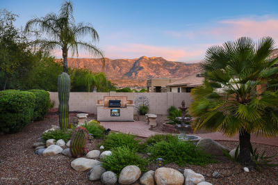 Tucson Single Family Home Active Contingent: 65318 E Rose Crest Court