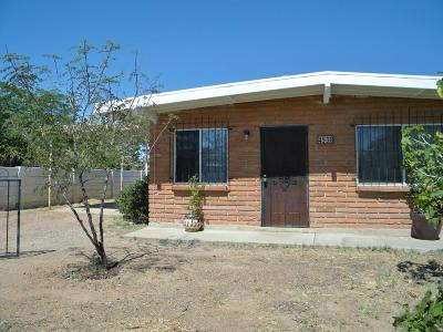 Tucson AZ Single Family Home For Sale: $109,000