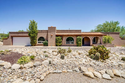 Tucson Single Family Home For Sale: 3768 E Marble Peak Place
