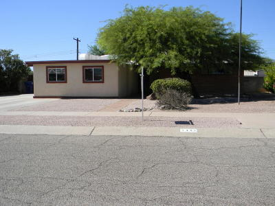 Tucson Single Family Home For Sale: 7351 E Beverly Drive