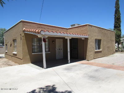 Tucson AZ Single Family Home For Sale: $99,000