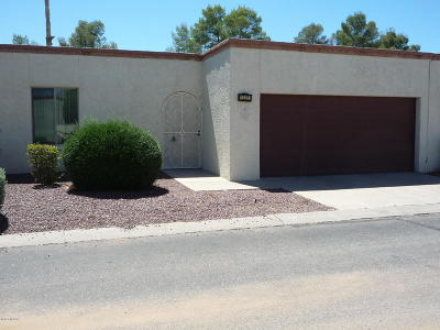 Tucson AZ Townhouse For Sale: $145,000