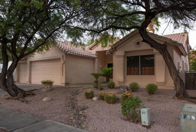 Tucson Single Family Home For Sale: 5198 N Via De La Lanza