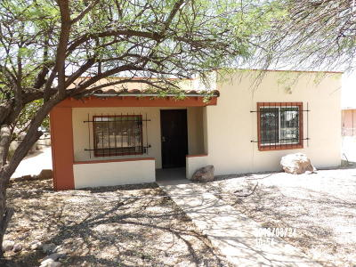 Tucson AZ Single Family Home For Sale: $119,000