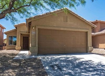 Pima County Single Family Home For Sale: 447 W Cedar Chase Drive