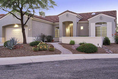 Oro Valley Single Family Home Active Contingent: 2249 E Cargondera Canyon Drive