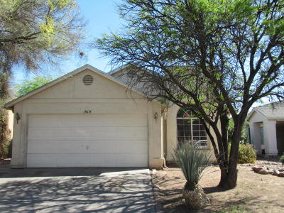 Tucson Single Family Home For Sale: 1511 W Argyle Avenue