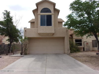 Tucson Single Family Home Active Contingent: 7033 S Camino Triste