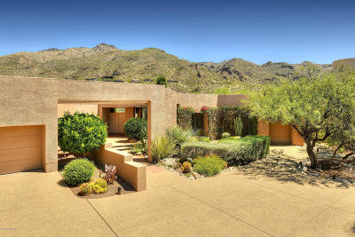 Tucson Single Family Home For Sale: 7241 E Ventana Canyon Drive