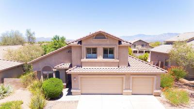 Tucson Single Family Home Active Contingent: 7686 W Innutian Court