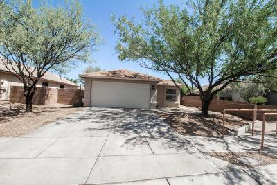 Tucson Single Family Home Active Contingent: 8091 E Sundew Drive