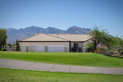 Tucson Single Family Home Active Contingent: 10760 N Thunder Hill Place