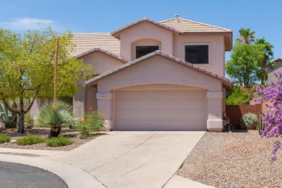 Oro Valley Single Family Home Active Contingent: 1820 W Eagle Crest Place
