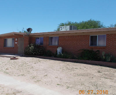 Sahuarita Single Family Home For Sale: 17714 S Camino De Las Quintas