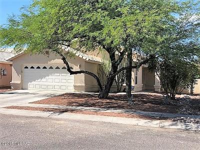 Tucson Single Family Home Active Contingent: 8621 N Cantora Way
