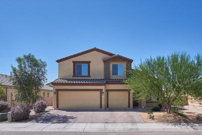 Marana Single Family Home For Sale: 8792 W Atlow Road
