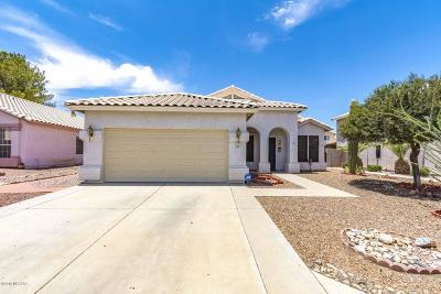Tucson Single Family Home For Sale: 7167 W Odyssey Way