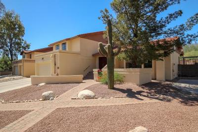 Tucson Single Family Home Active Contingent: 5722 N Via Umbrosa