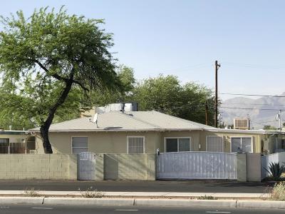 Tucson Single Family Home Active Contingent: 4221 E Pima Street