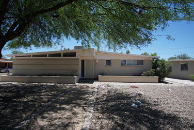Tucson Single Family Home Active Contingent: 1145 W Wheatridge Drive