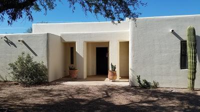 Tucson Single Family Home Active Contingent: 5440 E Presidio Road