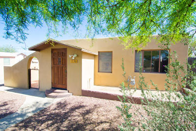 Tucson Single Family Home For Sale: 1130 E Spring Street