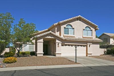 Tucson Single Family Home For Sale: 1977 W Desert Highlands Drive