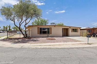Tucson Single Family Home For Sale: 7008 E 39th Place