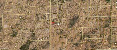 Tucson Residential Lots & Land For Sale: 18 Acres Off Of Marstellar