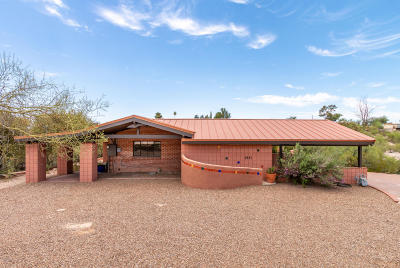 Tucson Single Family Home For Sale: 5221 N Placita Cresta Loma